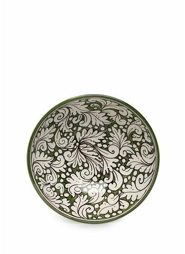 Abhika Abhika   Desenli Seramik Dekoratif Kase 101600315 Renkli